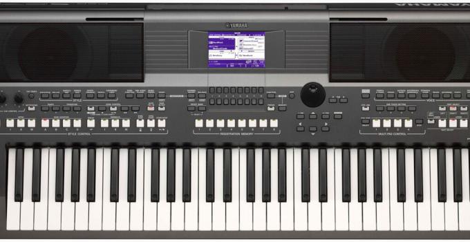 Yamaha PSR-S670 : Avis, test du piano numérique